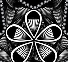Petal Pentagram Sticker