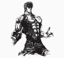 Angry Kenshiro by Bamminator