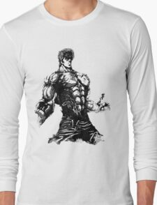Angry Kenshiro Long Sleeve T-Shirt