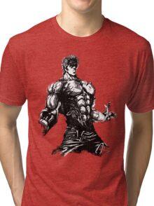 Angry Kenshiro Tri-blend T-Shirt