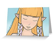 Princess Zelda (Skyward Sword) Greeting Card