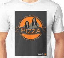 'You also have a pizza' Grey Unisex T-Shirt