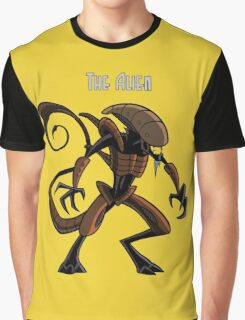 the allien Graphic T-Shirt