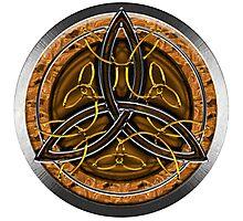 Celtic Cross Full Metal Photographic Print