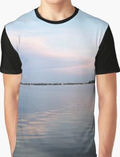 Pastel Clouds Graphic T-Shirt