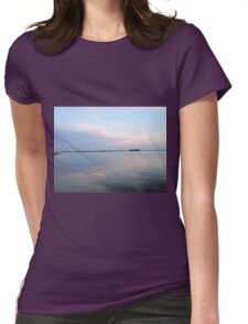 Pastel Clouds Womens Fitted T-Shirt