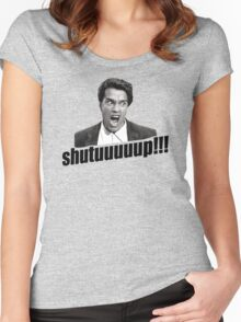 Schwarzenegger Shutup Women's Fitted Scoop T-Shirt