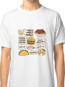 Talking Food Classic T-Shirt