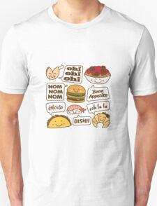 Talking Food Unisex T-Shirt