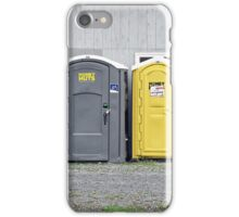Odd Man Outhouse iPhone Case/Skin
