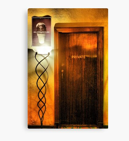 Private entrance at The Astor Canvas Print