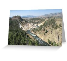Glorious Yellowstone!  Greeting Card