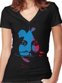 sororem salutem Women's Fitted V-Neck T-Shirt