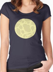 Galactic Space Collection- Pattern 1 Women's Fitted Scoop T-Shirt