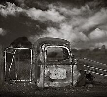 """"""" School Bus Shelter """" by Malcolm Heberle"""