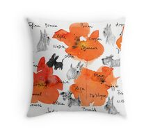 all_ all Throw Pillow