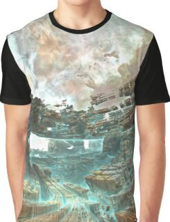 Aqua Space Shipyard [ iphone / ipad case / mug / laptop / pillow ] Graphic T-Shirt