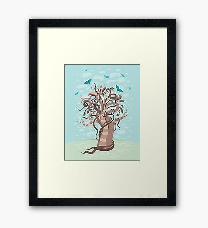 Fabulous tree Framed Print