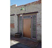Elegant Alley Entrance, For The Alley Bar Photographic Print