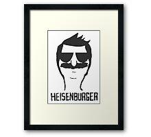 heisenburger Framed Print