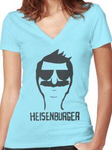 heisenburger Women's Fitted V-Neck T-Shirt