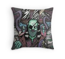The Pirate Octopus Colour Throw Pillow
