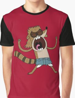 Rigby, The Death Kwon Do Freak Graphic T-Shirt