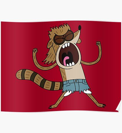 Rigby, The Death Kwon Do Freak Poster