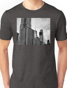 Tower peeking through  Unisex T-Shirt