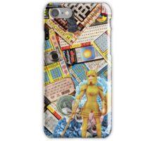 Hard Femme Warrior Barbie Doll Collage iPhone Case/Skin