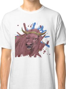 Red Bull - Semi Abstract Doodle on Steroids Classic T-Shirt