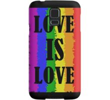Love is Love Samsung Galaxy Case/Skin
