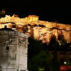 Acropolis view from bath house of the winds by Yannis-Tsif