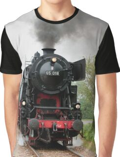 Red Work Graphic T-Shirt