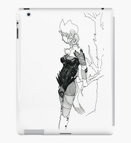 Art Line iPad Case/Skin