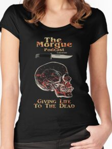 The Morgue Podcast Women's Fitted Scoop T-Shirt