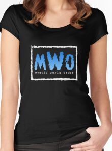 Mystic World Order Women's Fitted Scoop T-Shirt