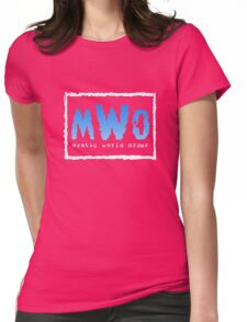 Mystic World Order Womens Fitted T-Shirt