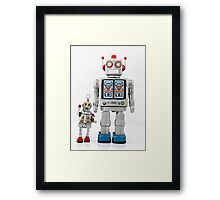 Father & Son Framed Print