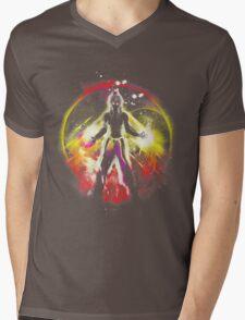 balancing universe Mens V-Neck T-Shirt