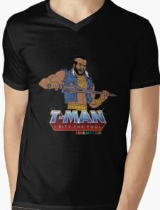 T Man Mens V-Neck T-Shirt