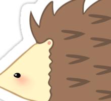 Hedgehog and Strawberry Sticker