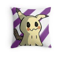 Mimikyu  Throw Pillow