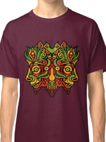 Psychedelic jungle demon Classic T-Shirt