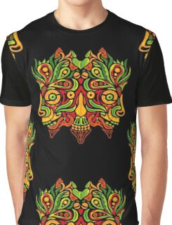 Psychedelic jungle demon Graphic T-Shirt