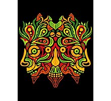 Psychedelic jungle demon Photographic Print