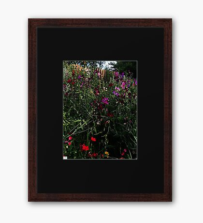 Beautiful and Bright. Naturally. Framed Print
