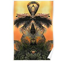 Jungles Mysticism Plays with a Palm Trees Animus Poster