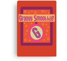 The Groovy Smoothie Canvas Print