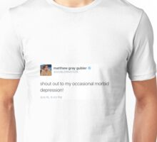 Ocasional Depression Unisex T-Shirt